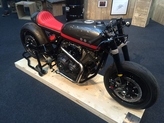 Yamaha XV950 converted for TW Steel by Numbnuts