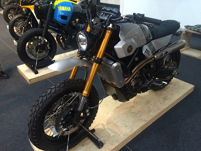 Yamaha XSR700 by Bunker Custom Motorcycles