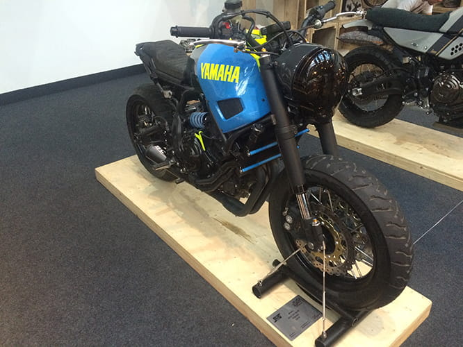 Yamaha XSR700 by Adhoc Cafe Racers