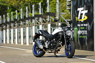Suzuki SV650 - new for 2016