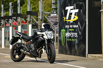 Kawasaki's ER-6n is uber popular among the Lightweight TT racers