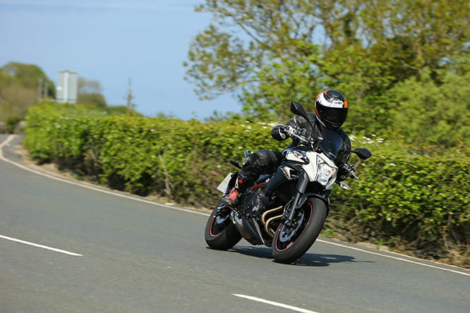 The best bike for a pillion - Kawasaki ER-6n