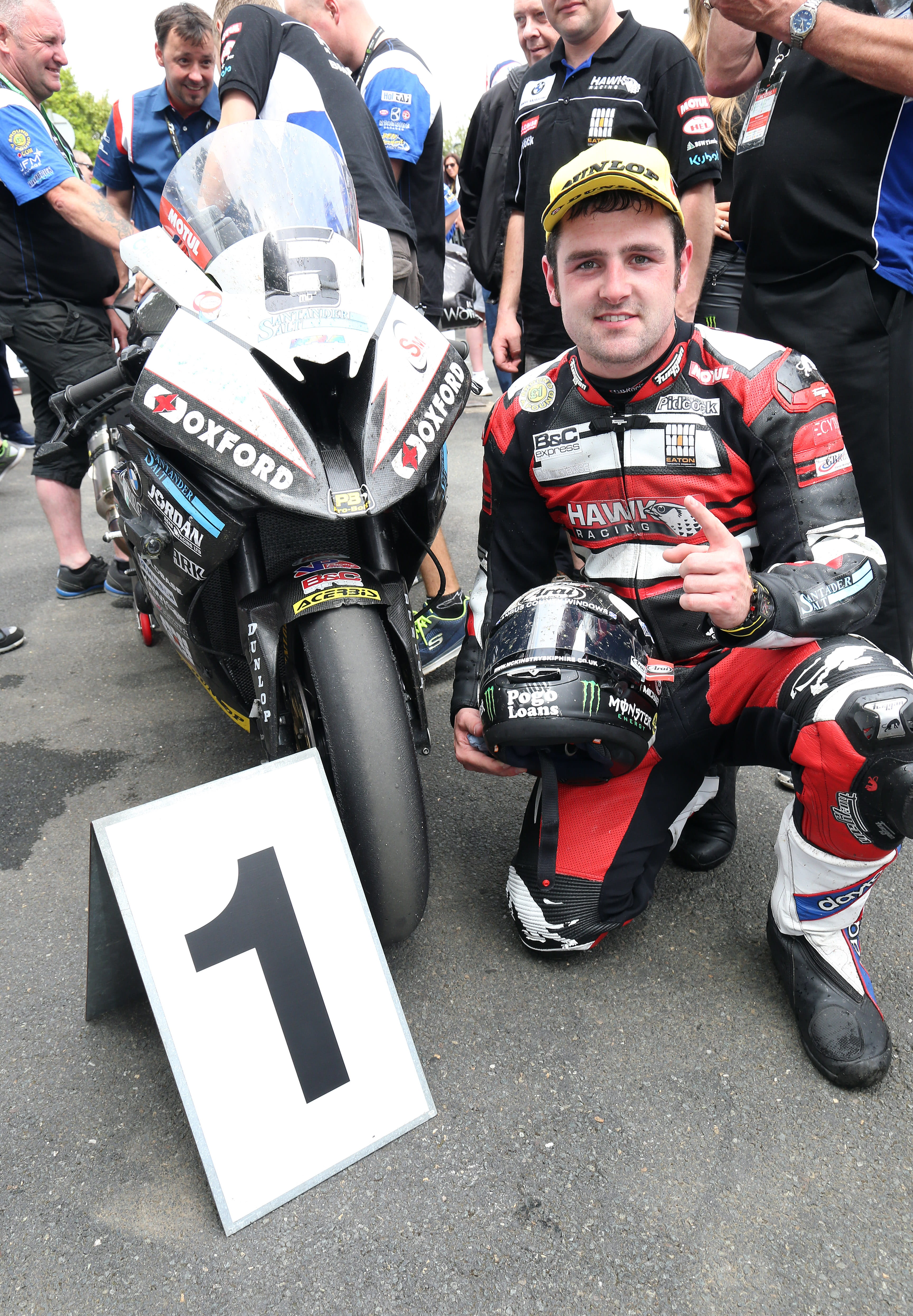 Dunlop smashed the lap record