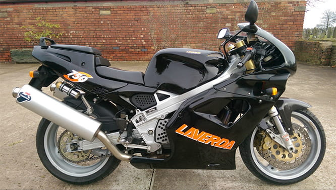 For sale on eBay right now: Laverda 750S