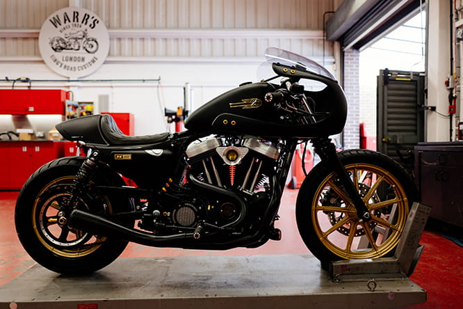 Rascal Racer by Warrs Harley-Davidson, Kings Road, London