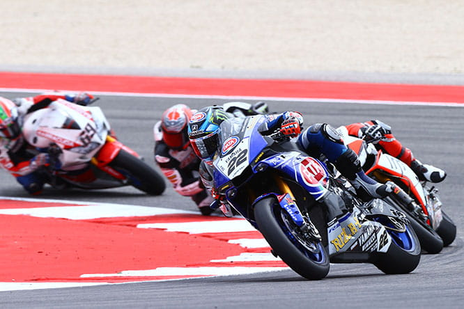 Alex Lowes en route to eighth in Misano