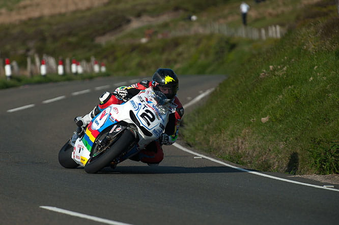Bruce Anstey is set to ride the divine-sounding RC213V-S up the hill