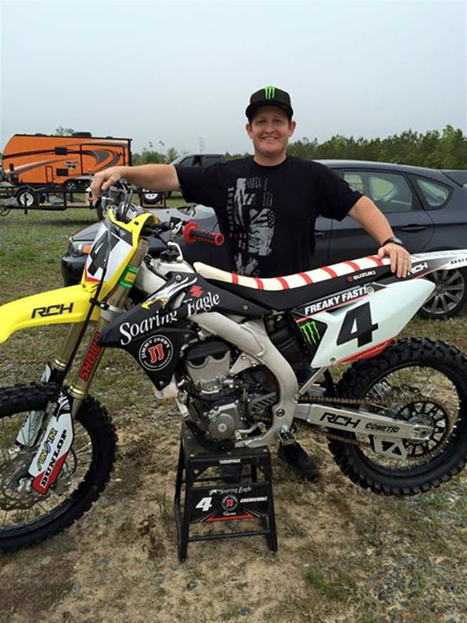 The GOAT of American Motocross and supercross - Ricky Carmichael
