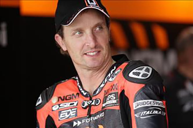 Barry Sheene's OW48 will be in the capable hands of Colin Edwards