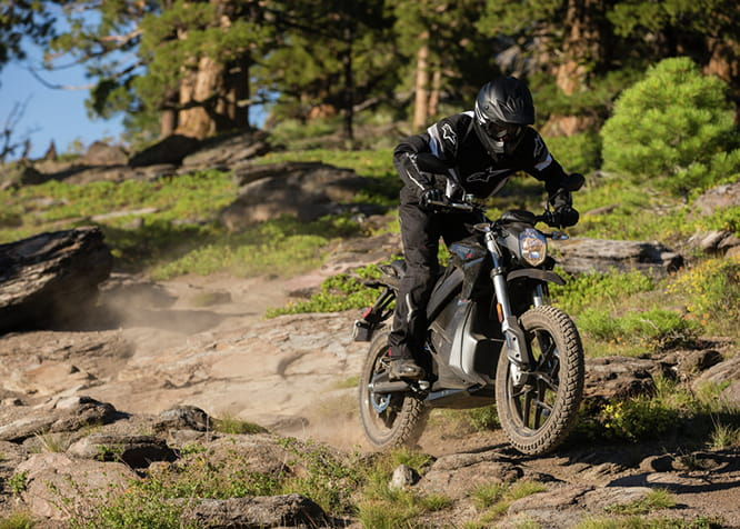 Zero DSR Adventure bike with 67bhp and a top speed of 158km/h