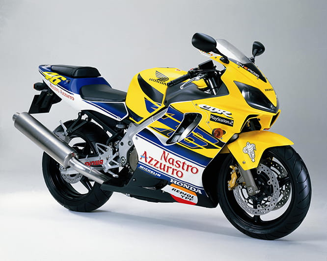 The model was only built for 2 years but did include this Rossi special paint scheme