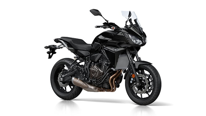 Yamaha Tracer 700 in Tech Black