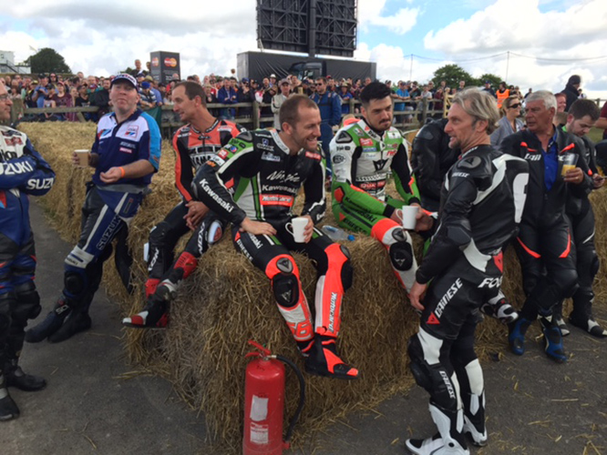 Dainese crew stick together