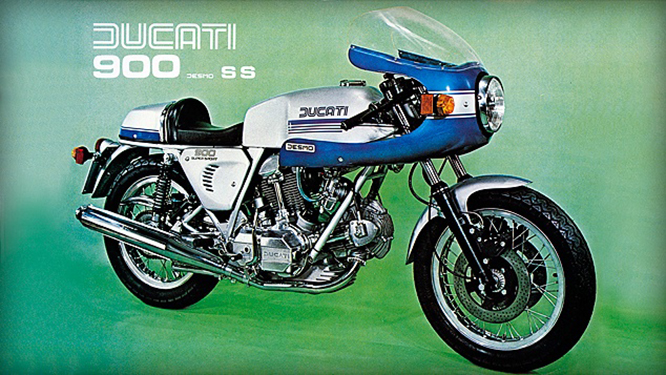 The 900 Super Sport came along in 1975