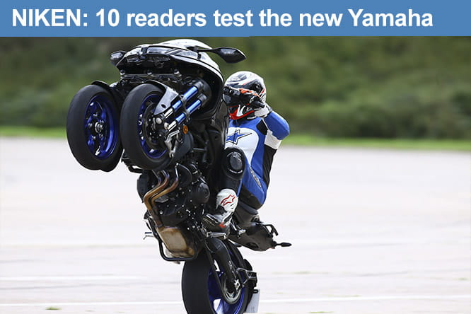 Ten readers test the Yamaha NIKEN, asking all the relevant questions