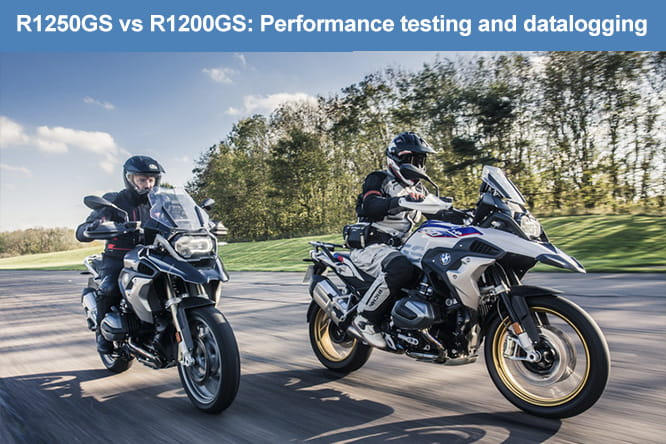BMW R1200GS vs R1250GS