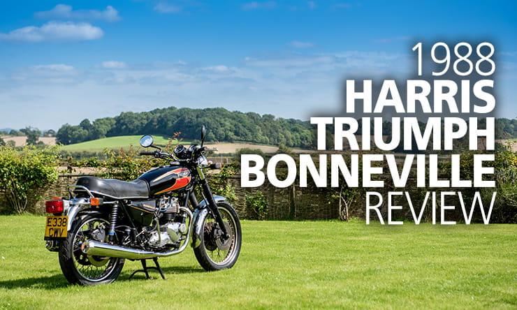 Harris Triumph Bonneville Review 1988 Classic Bikesocial