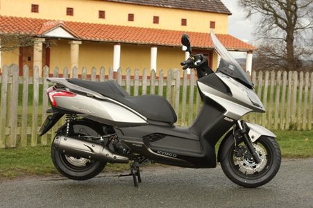 The excellent Kymco with a rubbish name: Downtown