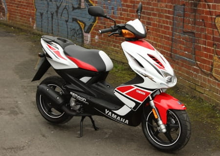 Yamaha Aerox; looks the part