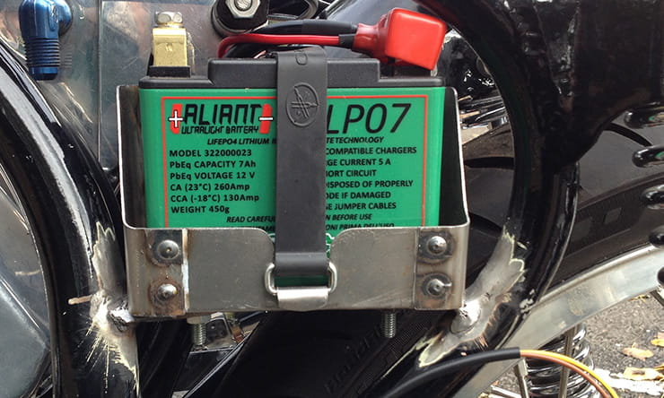 Motorcycle electrics explained: Lithium batteries
