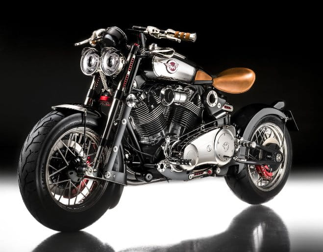 Matchless Model X Reloaded was unveiled in November 2014