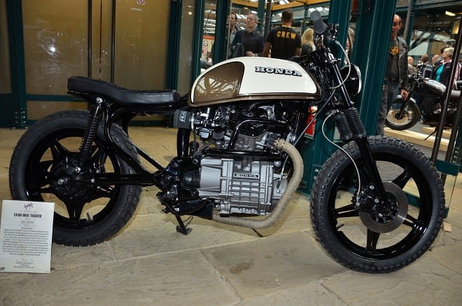 No longer a Plastic Maggot - the tuned Honda CX500