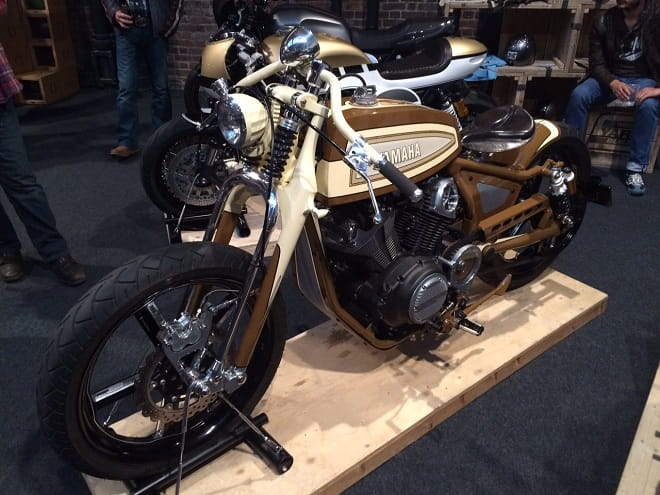 Playa del Rey - the Yard Built Yamaha special unveiled at The Bike Shed Show