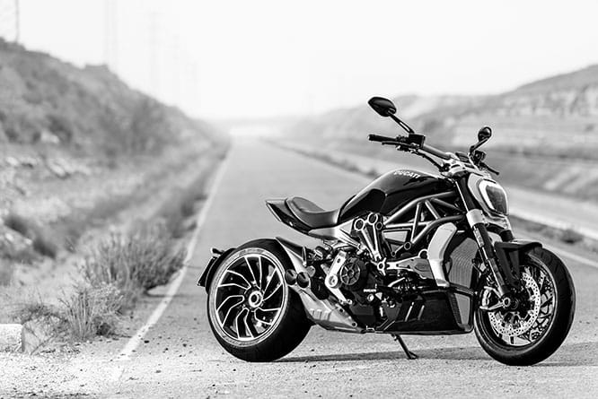 Ducati XDiavel S, in shops from March