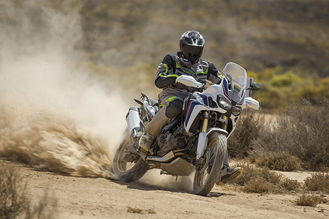Bike Social's Marc Potter tests the Africa Twin