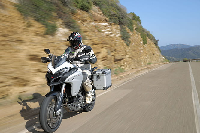 Ducati's Multistrada Enduro, fit for European touring