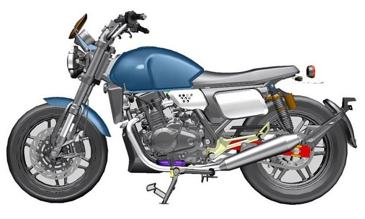 Norton's Chinese partners developing a small retro twin