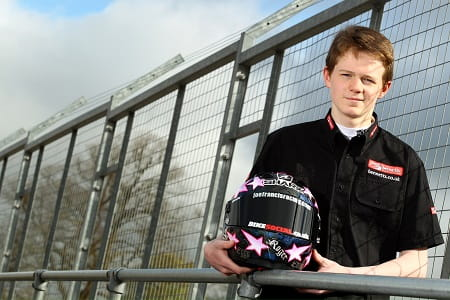 Joe Francis steps up to the Superstock 600 championship