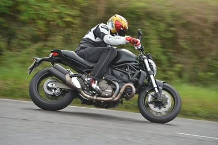 Bike Social's Marc Potter rides the Monster 821 Dark