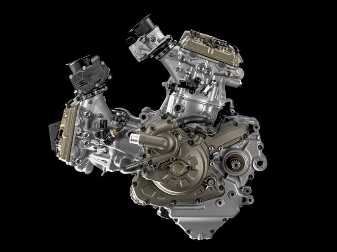 The Multistrada gets an updated engine for 2015
