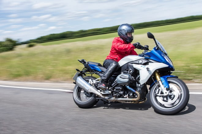 BMW's R1200RS on UK roads.