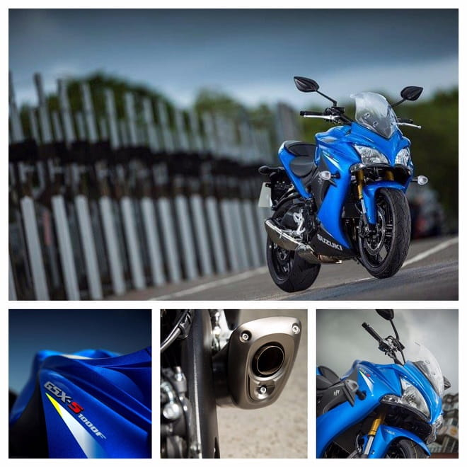 Suzuki's new GSX-S1000F is an all-new sports tourer with the emphasis very much on the word sports. Suzuki launched it today on the Isle of Man TT course.