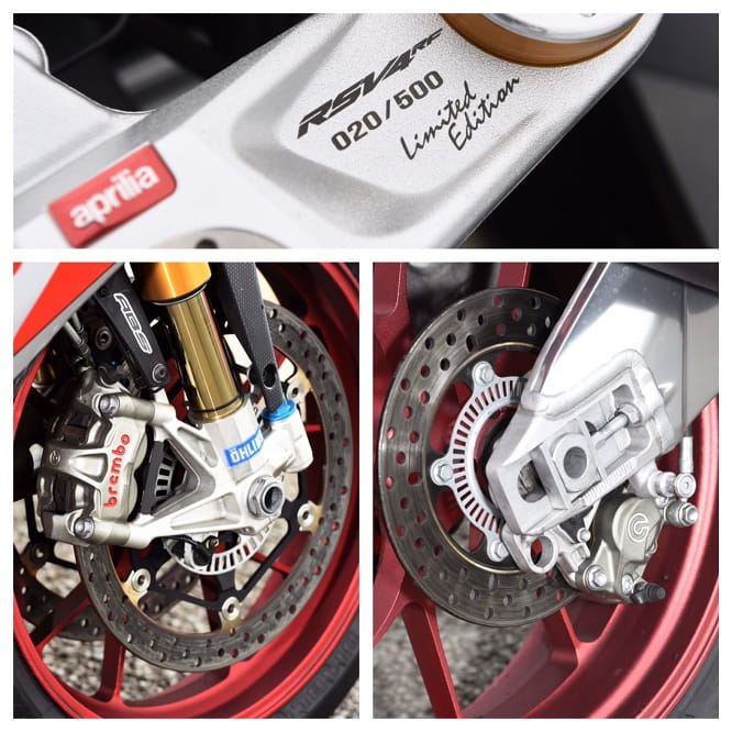 Brembo's and Ohlins - a powerful combo