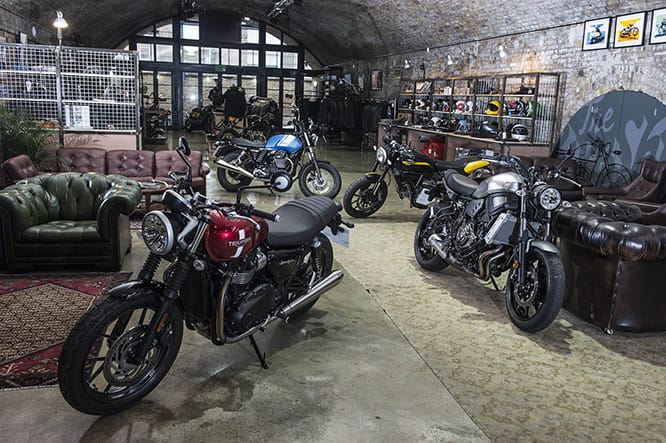 Taking over The Bike Shed Motorcycle Club in London