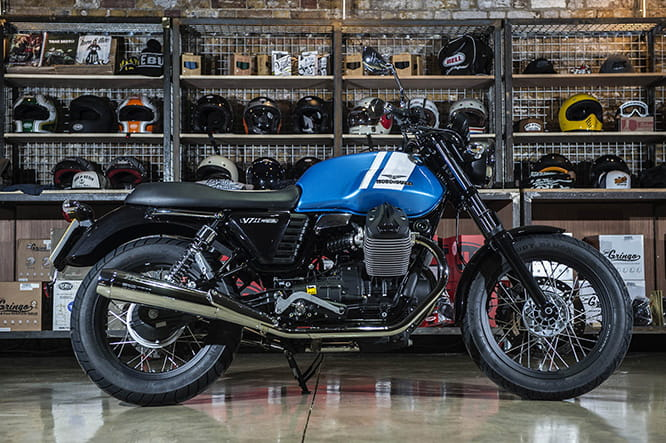 V7 II Special from Moto Guzzi is priced at £7635