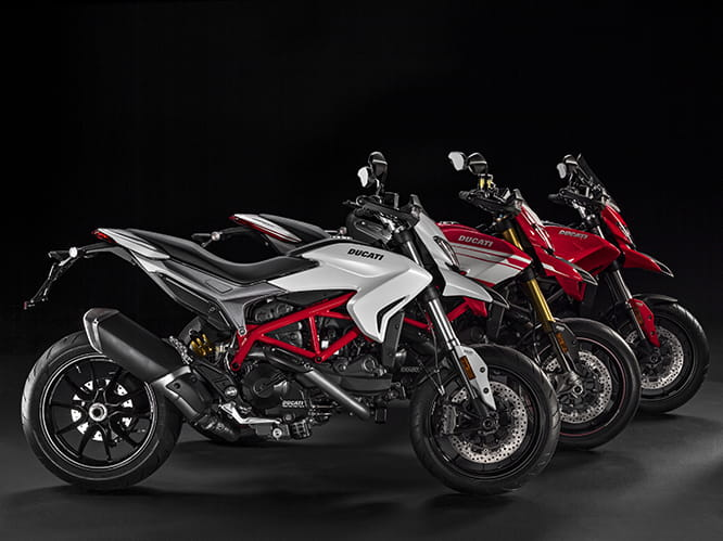One for every occasion? Hypermotard, Hypermotard SP and Hyperstrada