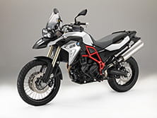 Colour options on the F800 GS