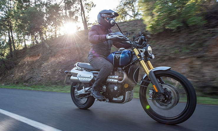 triumph scrambler 1200 xc and xe (2019) review