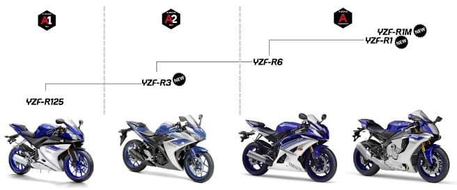 Yamaha R Series